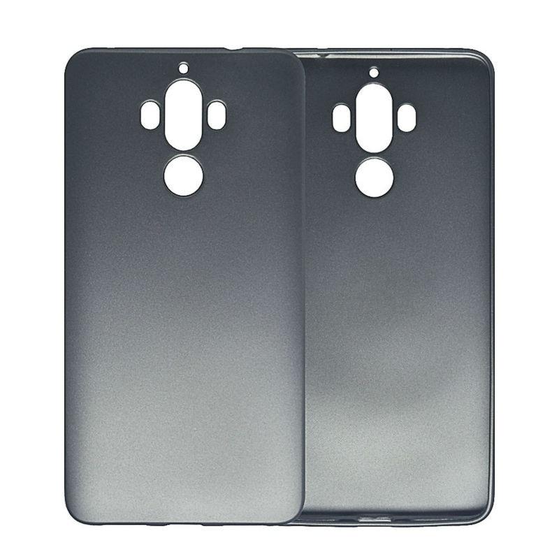 Huawei Mate 9 Kasus Simple Metallic Finish Lembut Silicone Ponsel - Aksesori dan suku cadang ponsel - Foto 5