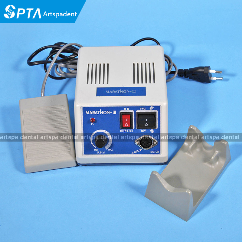 2017 NEW dental Lab micromotor polish handpiece with contra angle ...