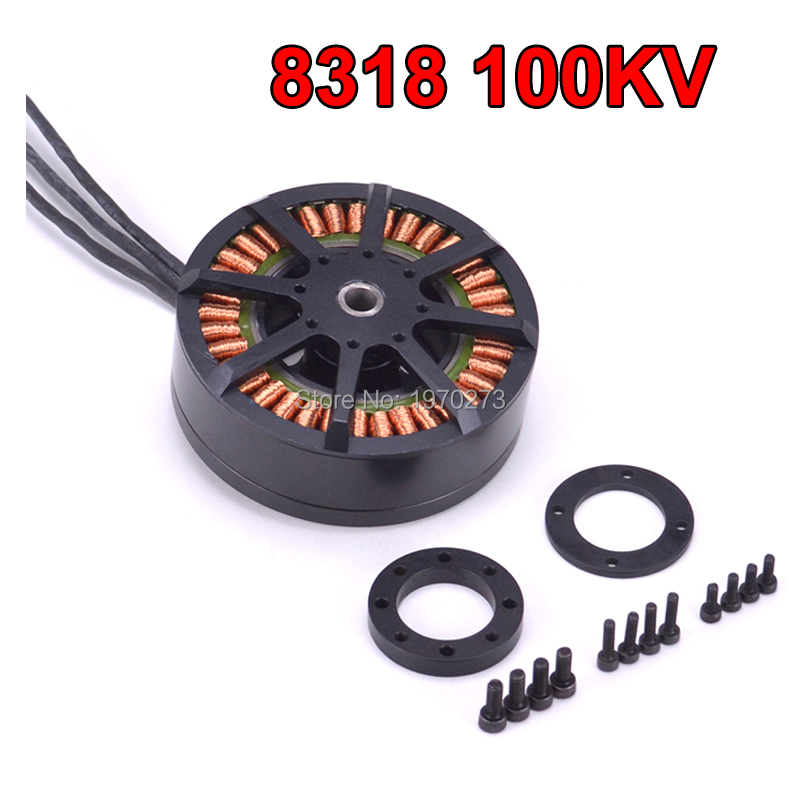 8318 <font><b>100KV</b></font> Brushless Plant Protection <font><b>Motor</b></font> 3-12S For 3080 props multicopter <font><b>Drone</b></font> UAV image