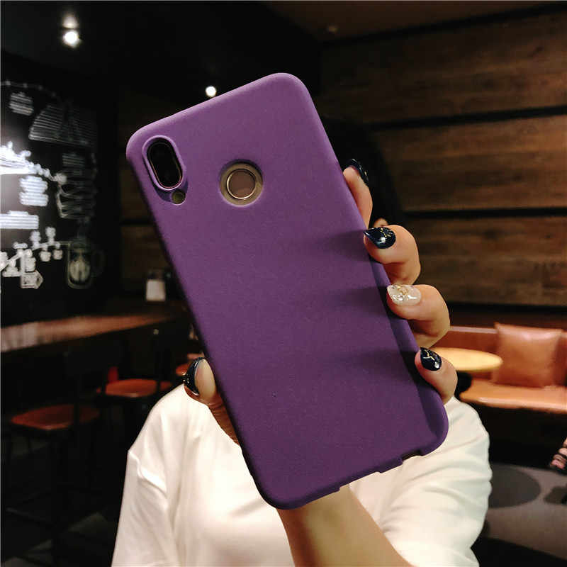 Matte Frosted TPU Cover for Huawei P20 Lite P10 P9 P8 2017 Mate 10 Cover Silicone Fundas Honor 8 9 5A 5C 6A 6X 6X 7X Phone Cases