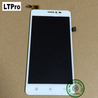Original New Replacement Touch Screen Digitizer LCD Assembly For Lenovo S850 S850T White Color Free Shipping