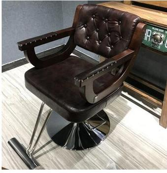 Kapper stoel kapper stoel massief houten vintage haar stoel kapsalon speciale haar stoel