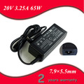 20V 3.25A 7.9x5.5mm AC Notebook Charger Laptop Adapter For Lenovo/ThinkPad/IBM X230 X220 X200 E430c X200i