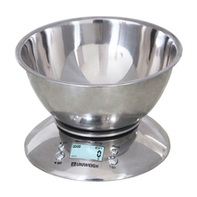 Digital Scales LCD Cooking Tool Stainless Steel Electronic Weight Scale Food Balance Cuisine Precision Kitchen Scales with Bowl digital kitchen scales 1000g 0 01g portable electronic scales pocket lcd precision jewelry scale weight balance cuisine