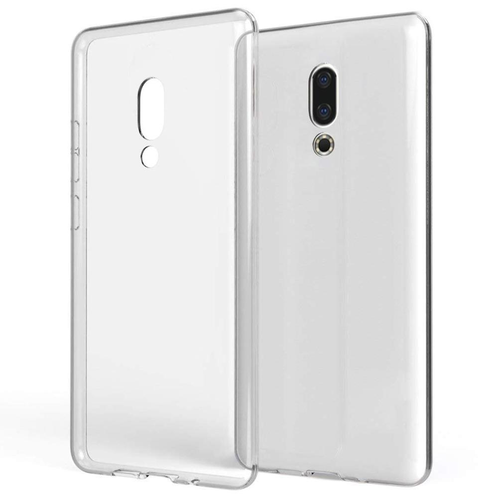 Crystal TPU Soft Shock Proof Phone Case For Meizu 16th Clear Absorption Anti Scratch
