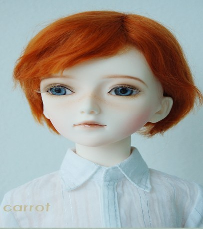 Mohair Doll wig  MSD 1/4 Short Cut   BJD doll Resin dolls wig oasis mohair