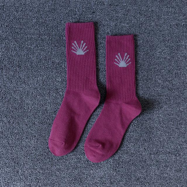 CHAOZHU 5 Pairs/Lot Men Fashion Street Wear Socks Sneakers Footwear Skateboard Beach Casual Young Trendy Socken Hip Hop