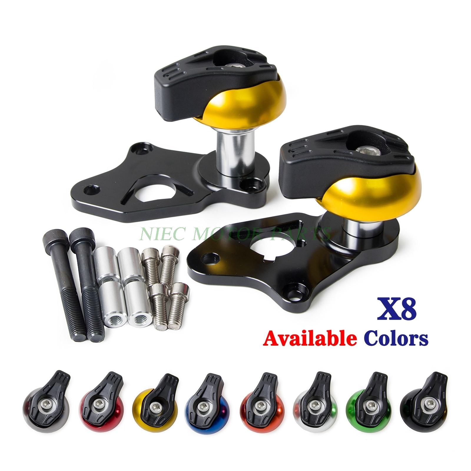 Motorcycle  Aluminium Frame Sliders Crash Pads Protector For Suzuki GSXR600 GSXR750 2006 2007 2009 2009 2010 2011 2012 radiator grille protective cover grill guard protector for suzuki gsxr600 gsxr750 gsxr 600 750 2006 2007 2008 2009 2010 2016