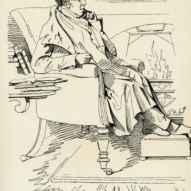 Isaac D'israeli  1766 Poster Print (26 x 36)