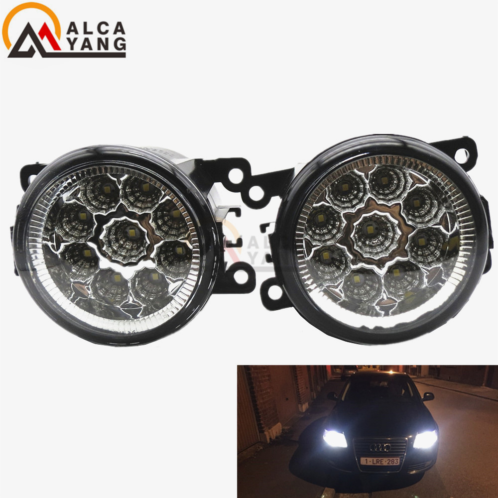 1set CCC For Mitsubishi OUTLANDER PAJERO GALANT Grandis L200 Car styling front bumper LED fog Lights high brightness fog lamps for lexus rx gyl1 ggl15 agl10 450h awd 350 awd 2008 2013 car styling led fog lights high brightness fog lamps 1set