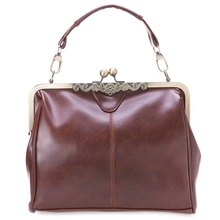 Spanish Casual Style PU Leather Tote Handbag Retro Bag With Shoulder Single Strap Girls New Style Bags Women Shoulder Bags