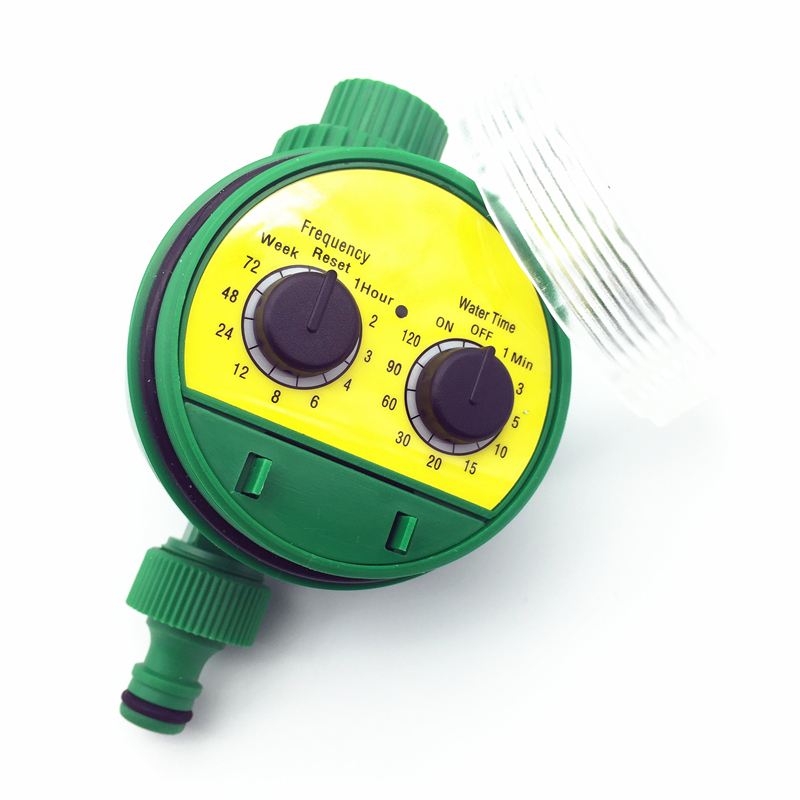 1 Pc English Electronic Intelligence Garden Irrigation System Timer Controller Water Programs Connection G3 / 4 Thread Faucet
