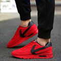 New Brand Designer 2017 Men Shoes Leather Casual Men Trainers Sport Sneakers Breathable Shoes Air Shoes Footwear Zapatillas