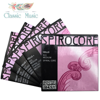 Thomastik Spriocore (S31) Cello Strings ,Full set , Ball end , Set 4/4 Medium. Made in Austria. With Freeshipping!