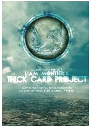 The Thick Card Project By Liam Montier-magic Tricks