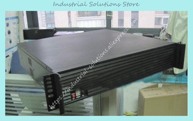 New Top 2U400L Server Computer Case Industrial Computer Case PC Power Supply new ultra short 3u computer case 38cm 8 hard drive pc large panel big power supply 3u server industrial computer case