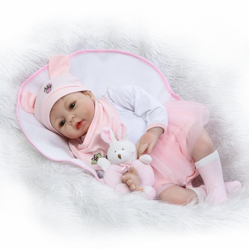 Bebe NPK real baby reborn dolls  22 soft silicone baby reborn dolls for children gift sleeping toy dolls  bonecasBebe NPK real baby reborn dolls  22 soft silicone baby reborn dolls for children gift sleeping toy dolls  bonecas
