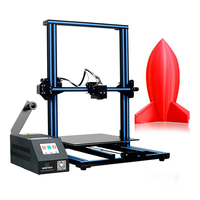 GEEETECH Open Source DIY A30 3D Printer With Large Printer Area Colorful Touch Screen Break resuming 3D Printer