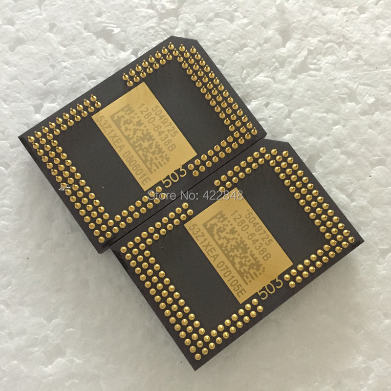 DLP Projector Dmd Chip 1280-6438B 1280-6038B 1280-6138B 1280-6338B for CASIO XJ240A projector free shipping second hand 1280 6038b 1280 6039b dmd chip for is500 mw512 in3116 w600 with 1 month