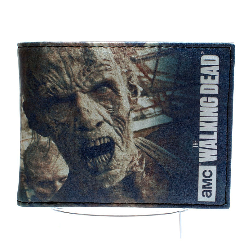 Walking dead  wallet The tide boys and girls purse wallet for young students DFT-1440 the walking dead инстинкт выживания