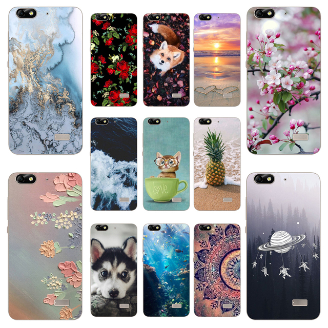 Fundas Huawei G Play Mini Cover Back Case Silicone 5.0