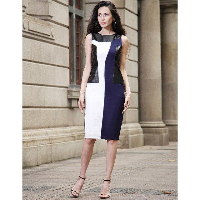 13f642d3c58 2017 bodycon plus size sleeveless sexy party office women Ivanka Trump  Style pencil formal vintage tunic Skirt vestidos