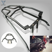 Motorcycle For Yamaha AEROX155 NVX155 MOTO Rear Carrier Fender Rack Tool Box Luggage Holder Saddlebag Support Bracket black iron