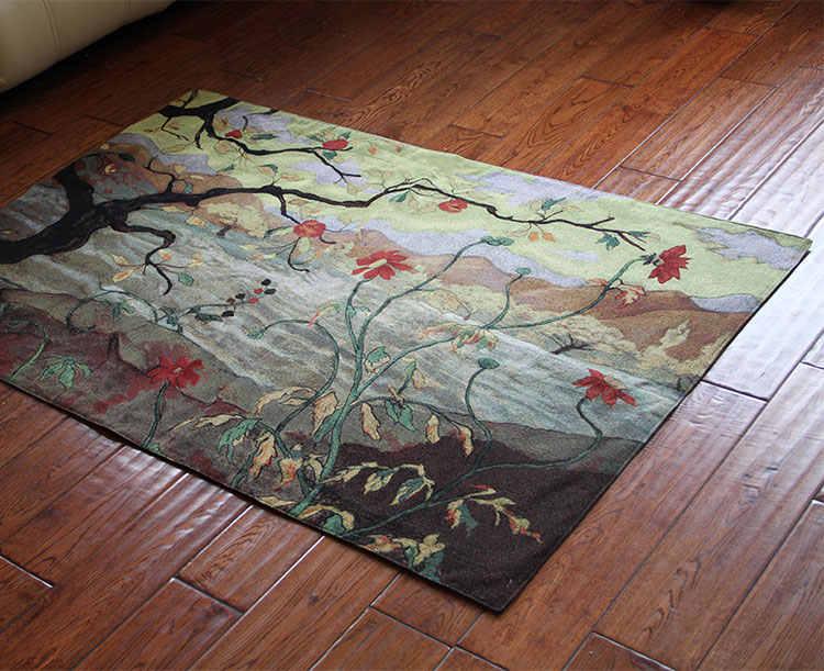 68*90cm pamuk duvar halısı belçika sanat duvar tablosu goblen fas dekor dekoratif duvar bezi ev kumaş tapiz elma ağacı