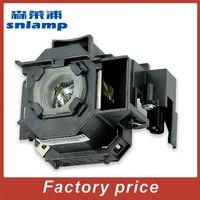 Замена Snlamp UHE 170W ELPLP43 V13H010L43 Лампа для проектора с корпусом для EMP-TWD10 EMP-W5D