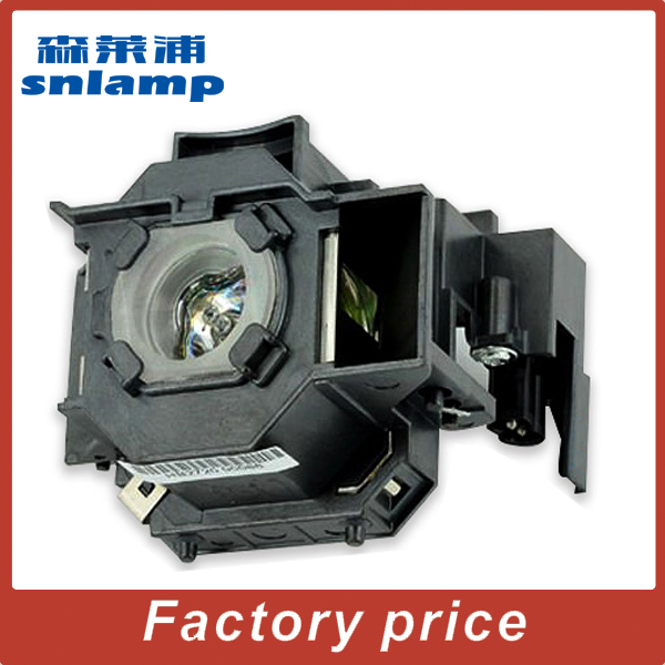 Snlamp Replacement UHE 170W ELPLP43 V13H010L43 Projector Lamp with housing for EMP TWD10 EMP W5D|projector lamp|170w uhe|170w uhe lamp - title=