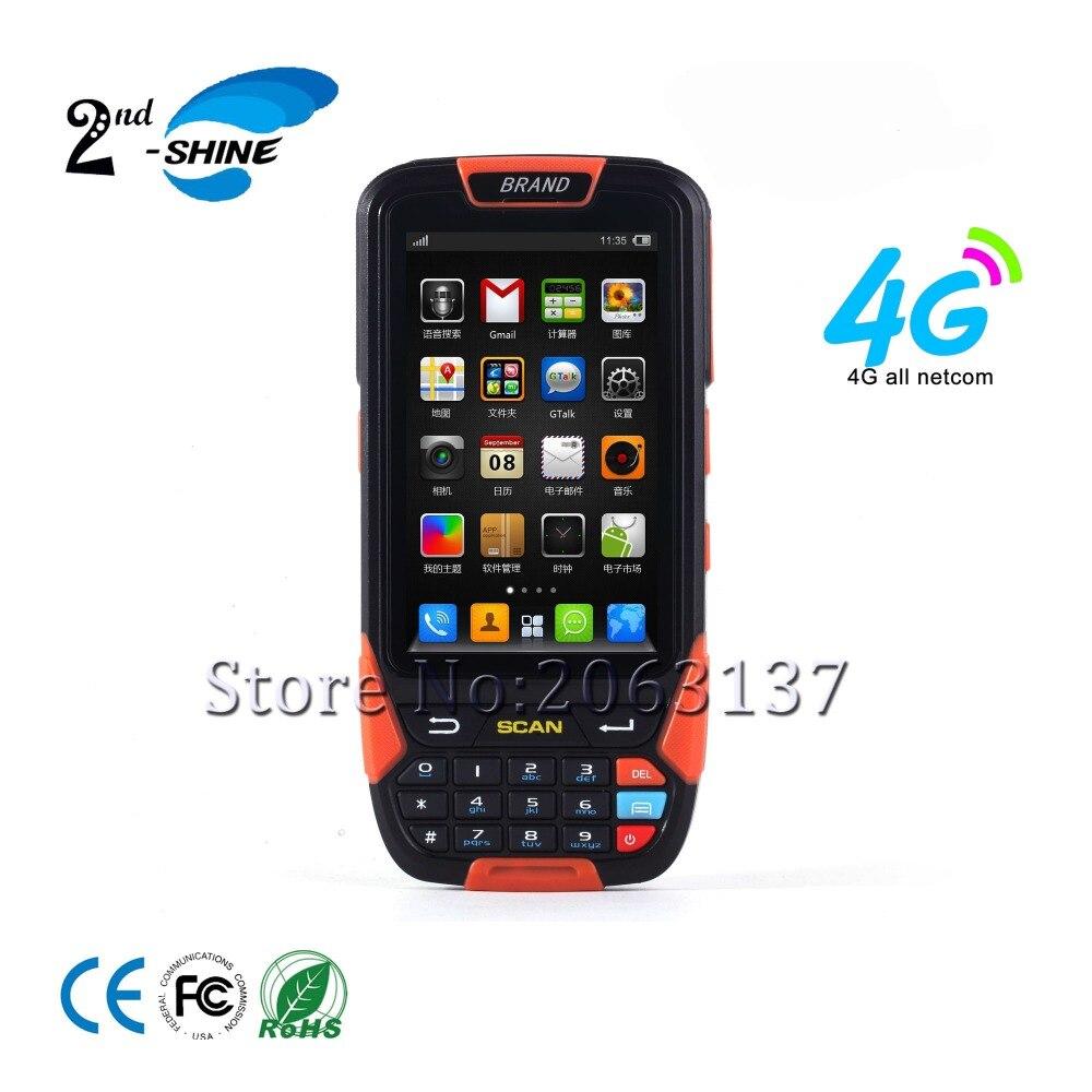 Meilleur PDA Industriel Robuste Terminal 1d Lecteur de Scanner avec 4g WiFi Carte SIM