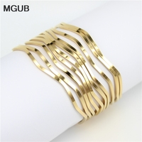 316 Stainless Steel Jewelry Bracelet Gold Plated Male And Female Minimalist Jewelry Excellent Ring 10