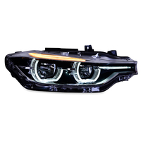 KOWELL Car Styling for BMW 316i 320i 328 335 Headlights 2013 2015 F30 F35 LED Headlight LED Angel Eyes Headlight assembly