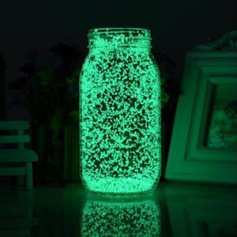 10g Luminous Party DIY Bright Glow in the Dark Paint Star Wishing Bottle Fluorescent Particles Green