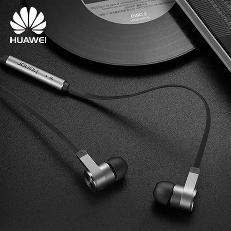 Original Huawei Honor AM13 auriculares estéreo Piston in-ear auricular 3,5mm interfaz micrófono auriculares altavoz para Huawei P10