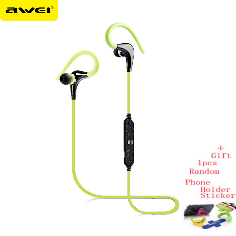 Awei A890BL Wireless Bluetooth Headphones Sports Running Earphone Handsfree  Stereo Music Headset Fone De Ouvido with Microphone-in Earphones    Headphones ... a8820314cc6b7