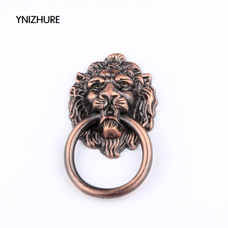 67 * 46MM kitchen cabinet handles and knobs red color antique wardrobe  cupboard handle high- - Online Buy Wholesale Antique Cupboard Handles From China Antique