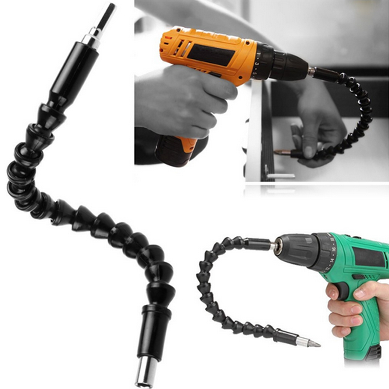 290mm Flexible Shaft Bits Extension Screwdriver Bit Electric Drill Power Tool Accessories 1pc flexible bendable extended extension magnetic screwdriver bit holder for power tool accessories 4mm
