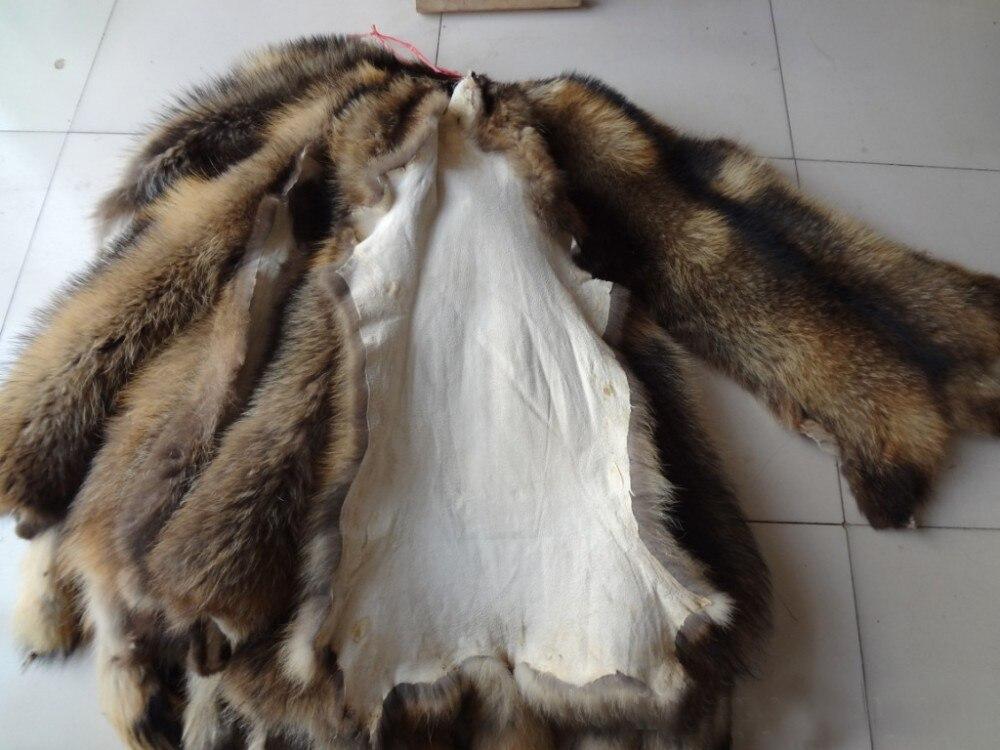 Peaux de fourrure de raton laveur/peau de fourrure de raton laveur - 4