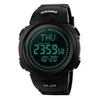 Men Watches SKMEI Brand Men Sport Watch 50M Waterproof Digital Fashion Outdoor Military Compass Wristwatches Relogio Masculino