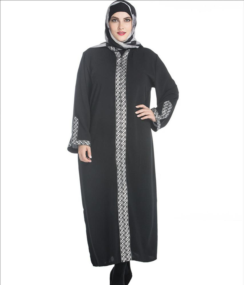 ... Muslim Clothing Long Robe Djellaba Arab Muslim Women Fashion Loose  Dubai Clothes Caftan Hooded Islamic Plus ... 8df442e7647a