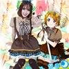 Pretty Japanese Anime Love Live Koizumi Hanayo Candy Maid Uniform Princess Vintage Lolita Dress Cosplay Custume