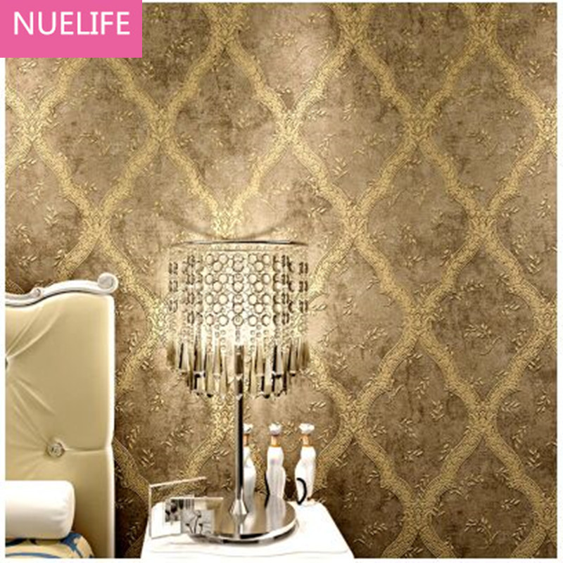 0.53x10m European Wallpapers Guest Room  Bedroom 3D TV Background Wall Modern Nonwovens Wallpaper N4 ada compliant guest room kit 900s