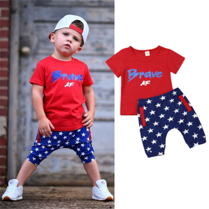 Shorts America Independence Day Clothing Set Infant Baby Girls My First 4th of July Outfit Sling Dress