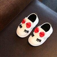 Baby Girl Shoes Fashion Infant Tollder Canvas Crib Shoes Baby Girls Sneaker Prewalker Leather Bebek Ayakkab