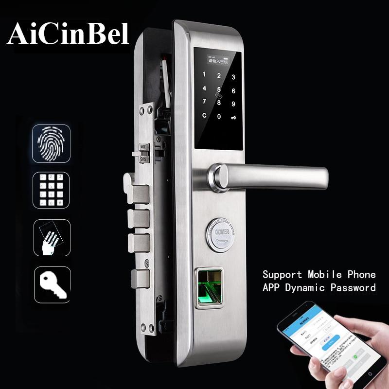 Handle Lock Electronic Door Lock Set Entrance Door