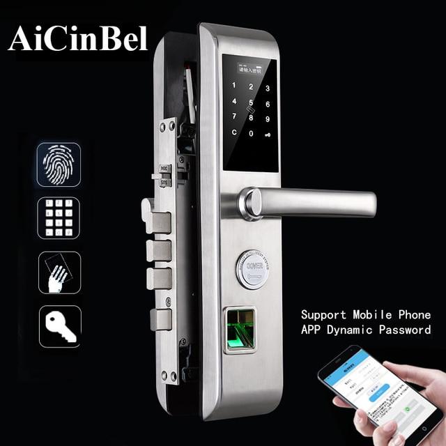 Handle Lock Electronic door Lock set Entrance Door Intelligent Fingerprint Lock Digital