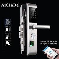 Handle Lock Electronic door Lock set Entrance Door Intelligent Fingerprint Lock Digital Electronic Anti theft Door Lock