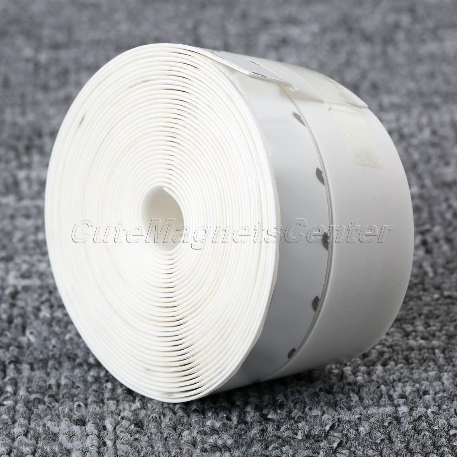 mtsooning 5M Glue Door Window Draught Dust Insect Seal Strip Soundproofing Weatherstrip 45mm Width White Door Accessories