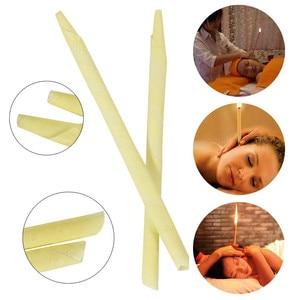 Image 3 - 24 ピース/箱耳キャンドル 100% 純粋な自然エッセンシャルオイル蜂ワックスキャンドル耳クリーナーワックス除去耳ケアインディアナ香り